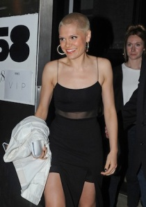 Jessie J Leaves Apartment 58 Club
