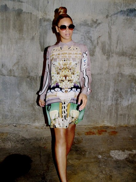 Beyonce+Knowles+Dresses+Skirts+Print+Dress+nMtDnlaqWDYl