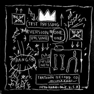 "Rappers Rammellzee and K-Rob ""Beat Bop"" by Jean Michel Basquiat!"