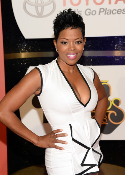 malinda williams short haircut