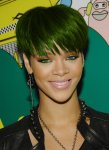 rihanna_green_hair_by_erdali-d495x3h