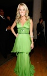 The green mullet dress