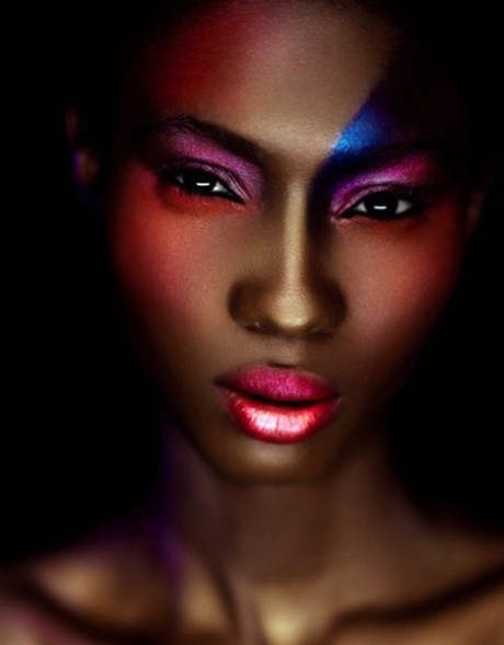 Hawa Diawara by Michael Brandt, MUA - Ayako for Suede Magazine W