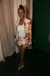 Tika-Sumpters-ATL-OWN-Network-Event-Haute-Hippie-Printed-Multicolor-Blazer-and-Shorts