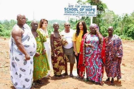 menaye charity work