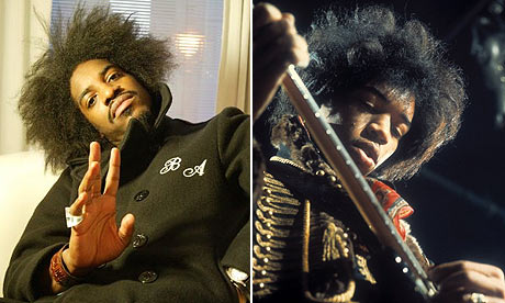 Andre 3000 and Jimi Hendrix