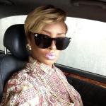 Eva-Marcille-Versace-sunglasses