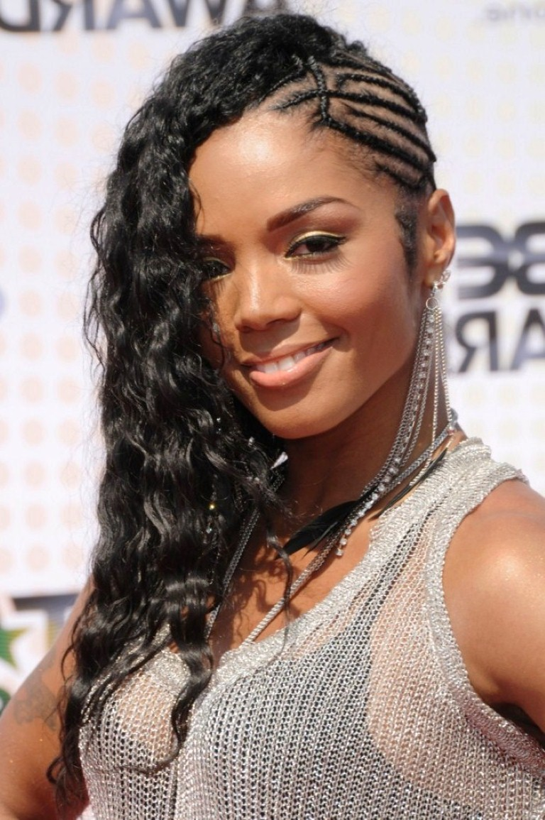 Braids For Long Hair Black Women Braided Mohawk Hairstyle For Black