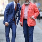 men-in-suits-telling-jokes-streetstyle