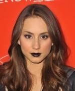 Troian+Bellisario+Makeup+Dark+Lipstick+2ICm5Y5fEETx