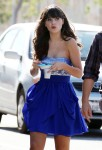 adorable+Zooey+Deschanel+strapless+blue+dress+rHOKMoV1YpSl