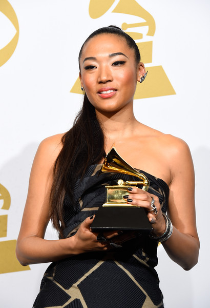 Judith+Hill+57th+GRAMMY+Awards+Press+Room+OmxABPi_axhl