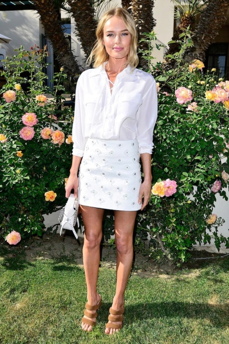 Le-Fashion-Blog-Kate-Bosworth-White-Equipment-Knox-Lace-Up-Top-Embellished-Skirt-Matisse-Suede-Sandals-Garden-Party-Summer-Style-Via-Zimbio